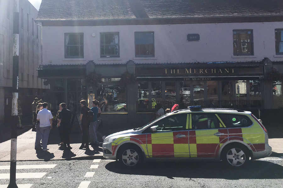 70 Evacuated after oven fire at pub