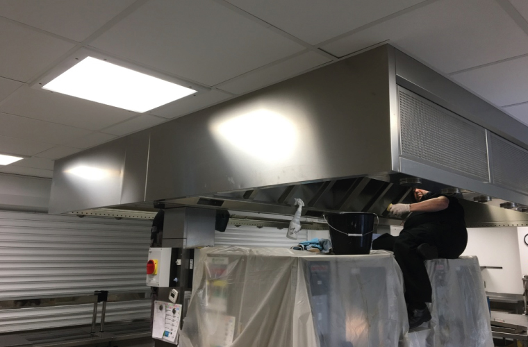 Commercial Kitchen Extraction Cleaning - Dorset, Hampshire and Wiltshire