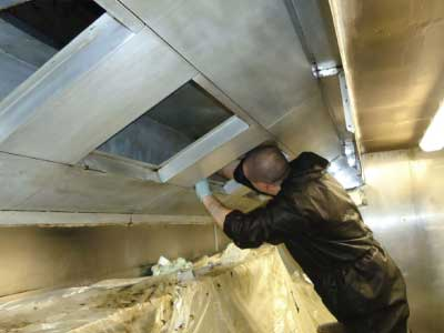 Commercial Kitchen Extraction Cleaning Dorset Hampshire Wiltshire