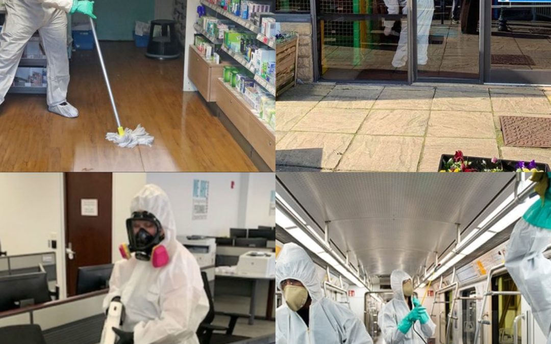 Decontamination and Disinfecting