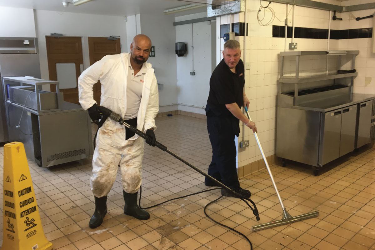 Decontamination services in Dorset, Hampshire, Wiltshire