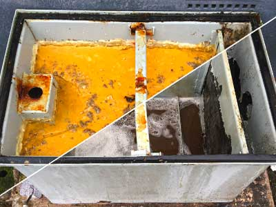 Commercial kitchen grease trap cleaning Dorset, Hampshire, Wiltshire