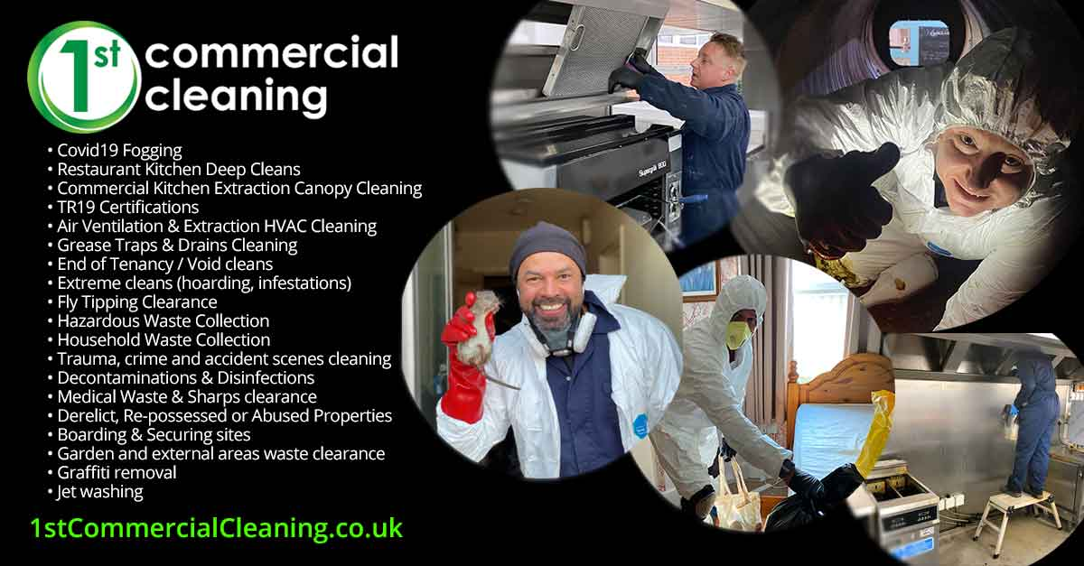 1st Commercial Cleaning Reviews & Testimonials