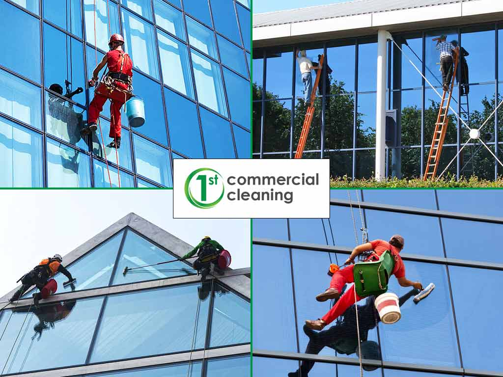 Commercial and Office Windows Cleaning in Dorset Hampshire Wiltishire