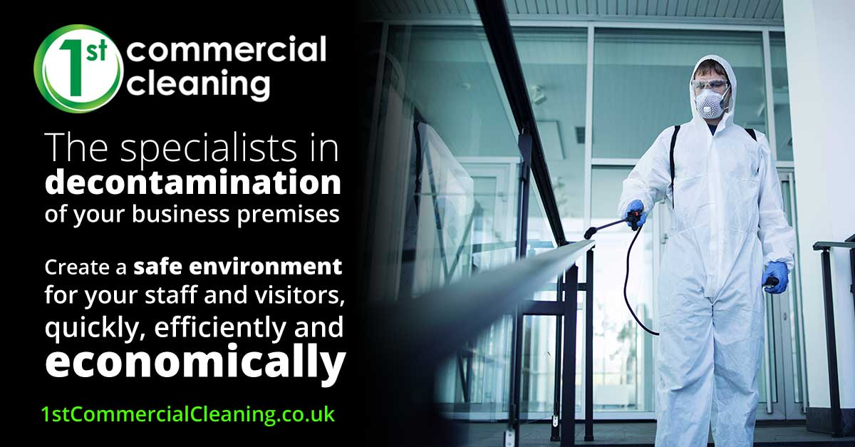 Disinfection and Decontamination of business premises in Dorset, Hampshire and Wiltshire
