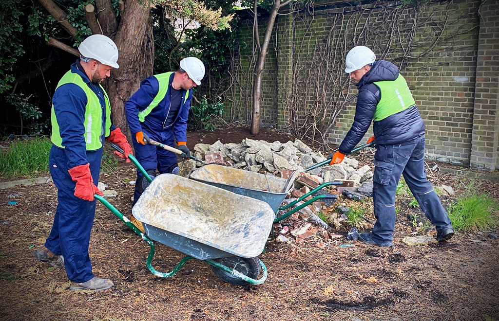 Fly Tipping Clearance Services by 1st Commercial Cleaning in Dorset